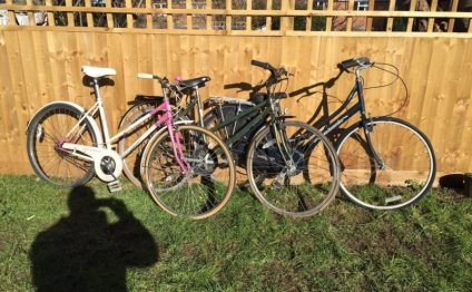 3x ladies hybrid bicycles for