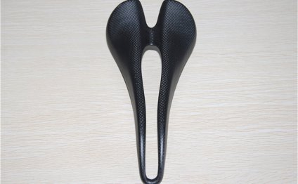 Fiber road bicycle saddles