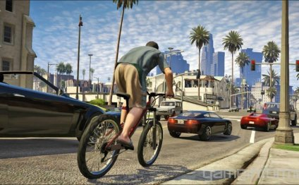 The mountain bike in GTA V