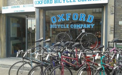 OX4 1NZ - Map Oxford Bicycle