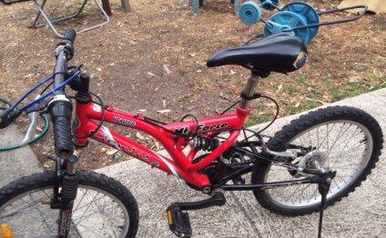 BMX Bike (with suspension)