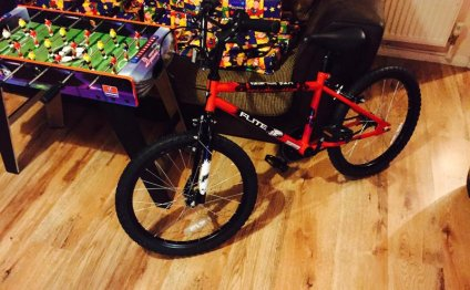 Sons new bike