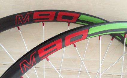 M90 650B MTB bike UD carbon