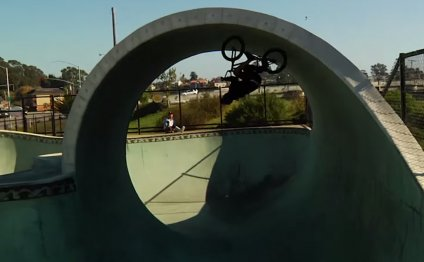 This BMX Full Loop Attempt
