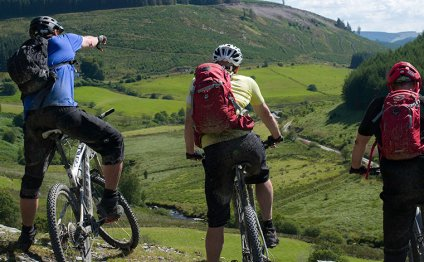 Mountain biking, Ceredigion