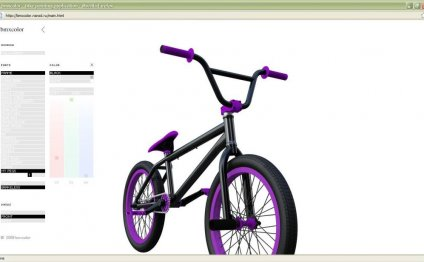 Black And Purple Bmx Bikes
