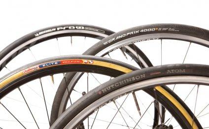 Racing road tyres