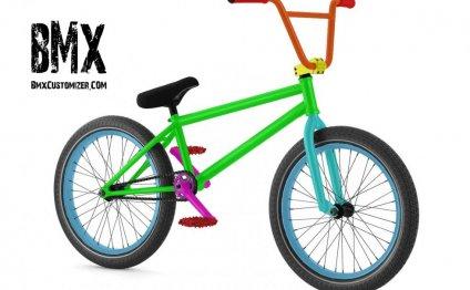 Customized BMX Bike Design