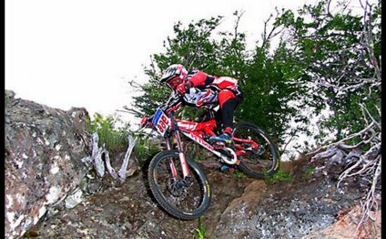 Downhill Mountain bike pictures