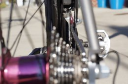 How will 135mm back hub widths affect road bike chainline and shifting overall performance