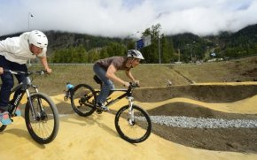 Pump Track Hill Bicycle