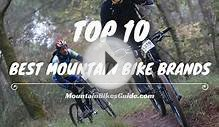 2016's 10 Best Mountain Bike Brands