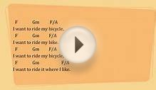 Bicycle Race by Queen - Lyrics & Chords