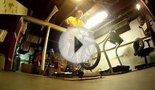 Bike Rollers BMX Winter Training : Filmed with a GoPro HD Hero