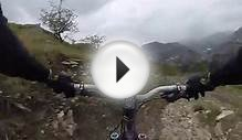 Blaenau Ffestiniog Downhill mountain bike DH first run