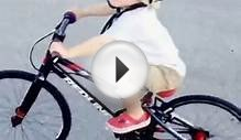 BMX GROM 2 YR OLD ON MICRO MINI WITH 100MM TURN3 CRANKS