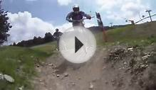 Downhill Mountain Bike Jumps Bike Trail Park La Molina