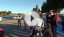 Ferrari F430 Scuderia Versus Bicycle Drag Race 207MPH