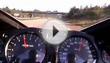 Hayabusa racing on autobahn at top speed and 0-300 km/h
