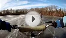 Ice Racing motorized bicycle