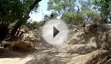 Mountain Bike race on the Secret BMX pump track in the