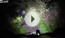 MOUNTAIN BIKES GO FOR A RIDE AT NIGHT IN THE WOODS