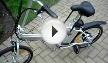 Plug In Folding Hybrid Electric Bicycle
