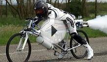 Worlds Fastest Bicycle - I Love Bicycling